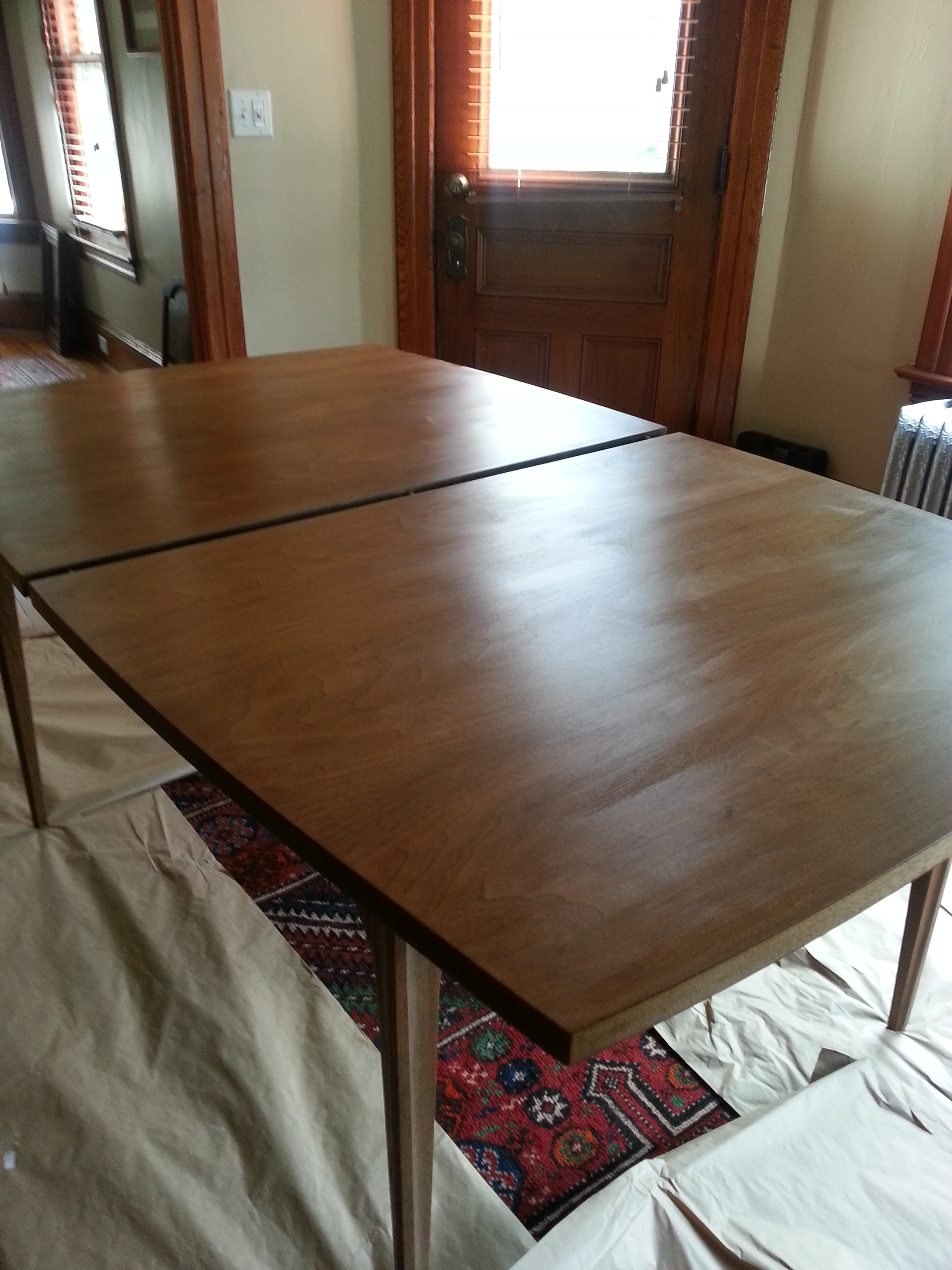 Refinishing Dining Table Minimalist Home 2016 2017